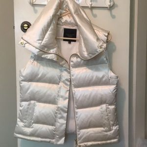 Never worn Puffy pearl vest